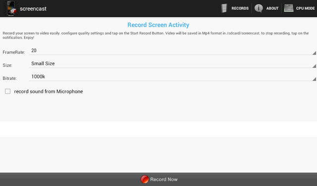 Screencast Pro – Make Quality Videos with your Android Phone