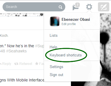 Exciting Keyboard Shortcuts that will Make you a Twitter Ninja