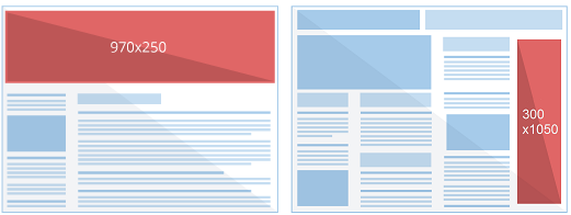 Two More Ad Sizes For Adsense Publishers: You Can Earn Bigger!