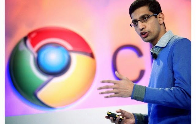 Larry Page; the main man of Google; puts Sundar Pichai in control of more of Google's products.