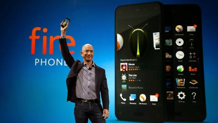 Amazon Takes $170 Million Hit on Fire Phone