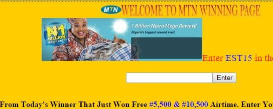 Mtnextracard.tk recharge card scam